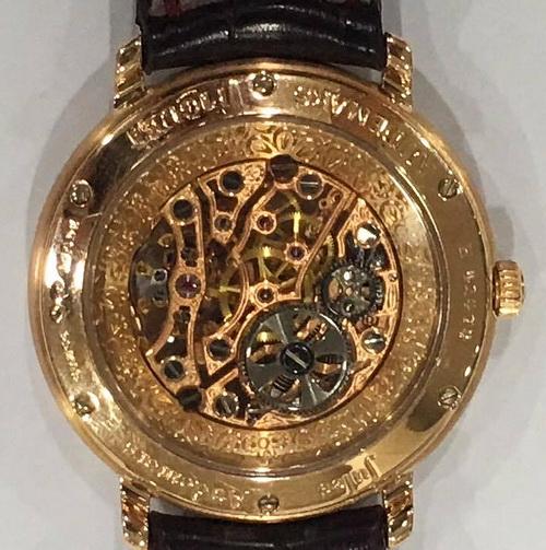 AUDEMARS PIGUET 愛彼錶 精雕鏤空 18K玫瑰金 男用腕錶