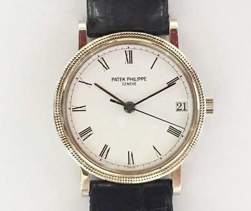 PATEK PHILIPPE 百達翡麗 PP 3802 最具經典 自動上鍊 男性腕錶