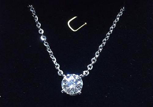 鑽石造型墬子1.22 CTS 八心八箭 女用