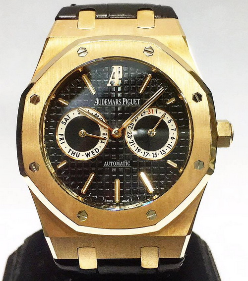 Audemars Piguet 愛彼錶  皇家橡樹系列 26330OR 玫瑰金 自動機械 男士錶腕