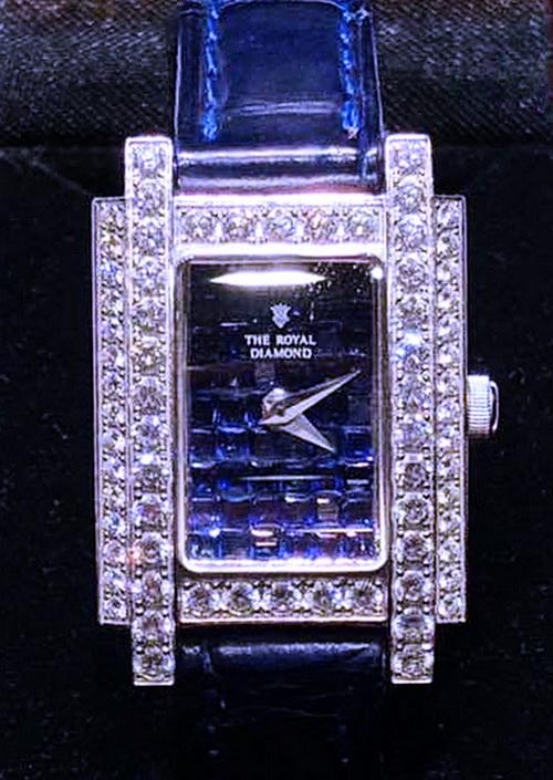 THE ROYAL DIAMOND 皇家鑽石 珠寶錶 女用