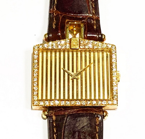 CORUM 18K黃金 Rolls Royce系列 原裝鑚錶