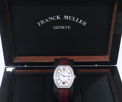 Franck Muller 法蘭克穆勒 HEART系列 REF.5002SQZC珠寶錶 女用