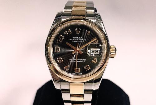 ROLEX 勞力士 蠔式恆動 日曆 Ref.179161玫瑰金 半金款 腕錶 女用