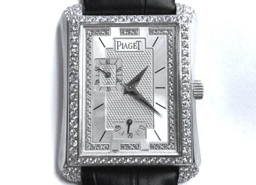 伯爵 PIAGET Emperad 18k白金 原裝珠寶錶 男用