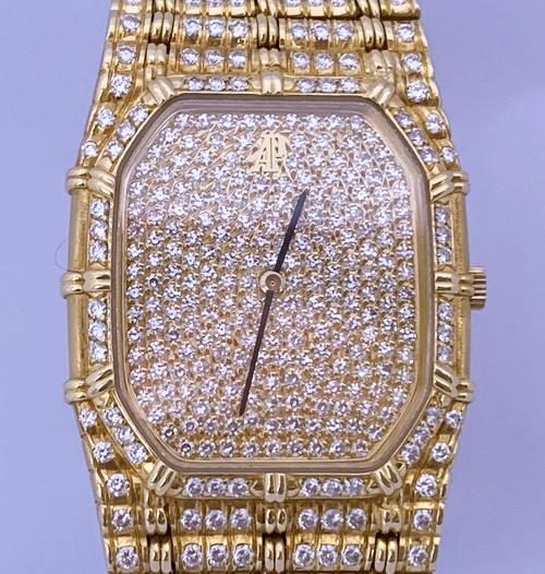 Audemars Piguet 愛彼錶 Bamboo竹節君子 18K黃金 腕錶