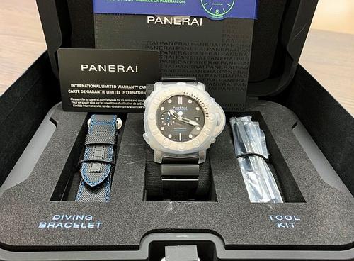 PANERAI 沛納海 Luminor Marina PAM01305 三日鍊  鈦金屬自動上鍊