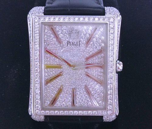 PIAGET 伯爵  Emperad 帝王系列 18k白金 原裝珠寶錶 附盒證