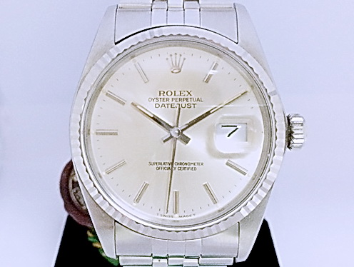 ROLEX 勞力士 蠔式恆動 日曆型 Ref.16014腕錶 男用