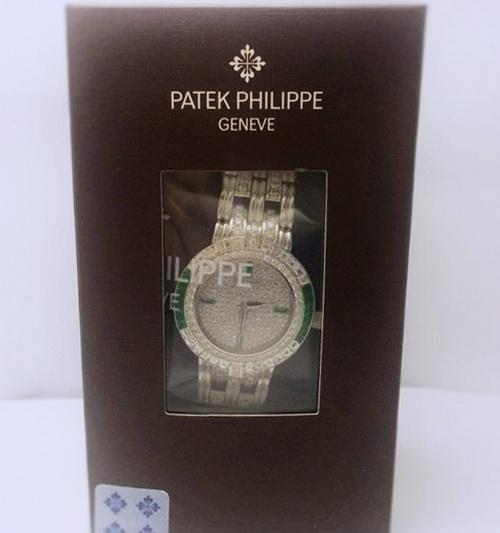Patek Philippe 百達翡麗 3982/23 18K白金鑽錶 男用