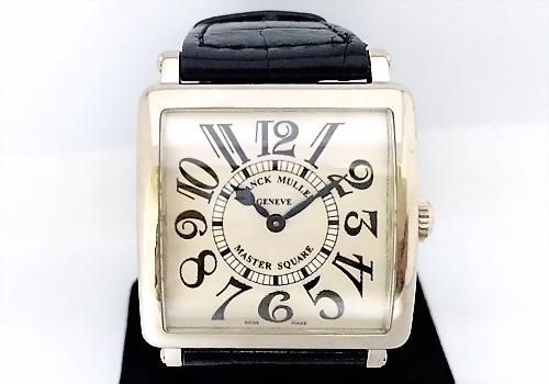 Franck Muller 法蘭克穆勒 18k白金 The Master Square 腕錶 中性