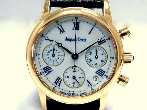Jaqurt-Droz 雅克德羅 18K金 計時碼錶 系列 中性