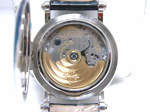 P.P 百達翡麗 白金18K Ref.5059G 飛返萬年曆 腕錶 男用