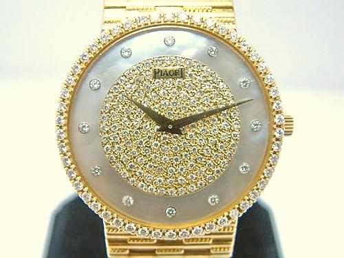 PIAGET 伯爵 18k黃金 DANCER系列 珠寶錶 男用