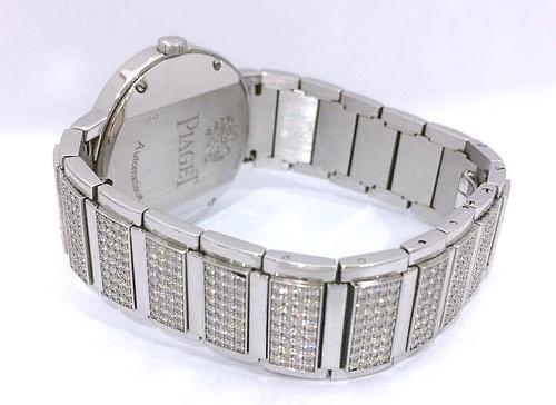 PIAGET 伯爵 18k白金 NEW POLO 珠寶錶 男用