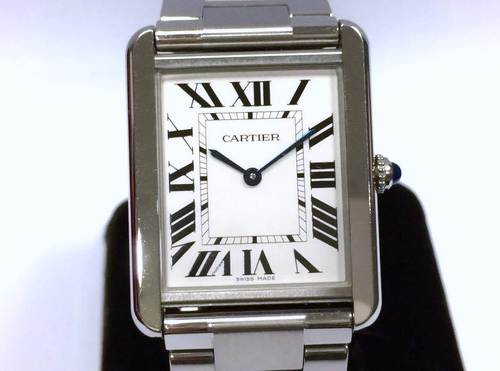 CARTIER TANK SOLO系列 女用腕錶