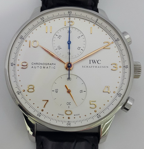 IWC 萬國 Protuguese 大葡萄牙 IW371445 計時碼表 男錶
