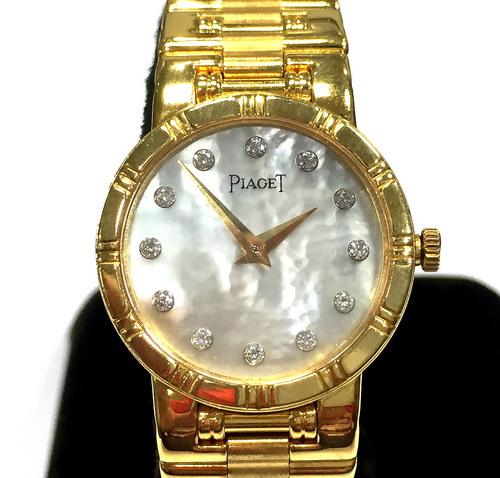 PIAGET 伯爵 18k金 DANCER系列 珠寶錶 女用