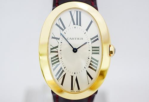 CARTIER 卡地亞 18k黃金 BAIGNOIRE系列 大型男女適用