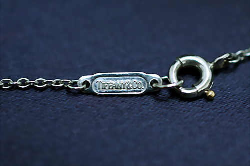 TIFFANY & CO. P.T 950 純白金鑽項鍊