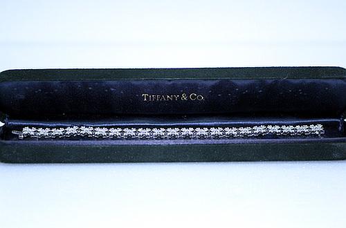 TIFFANY & CO. P.T 950 純白金鑽手鍊
